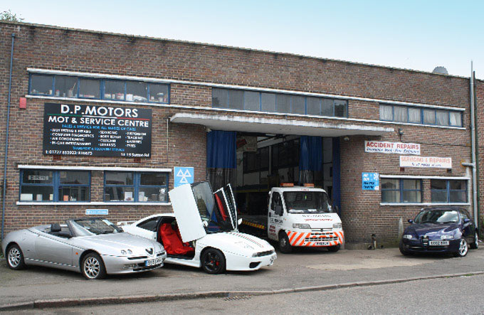 MOT Test Centre, DP Motors St Albans Herts